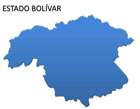 Mapa de Bolivar Mapa Físico Geográfico Político