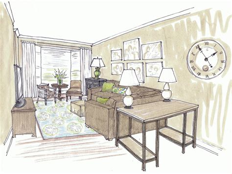 living room drawing the most beautiful living room architecture sketch