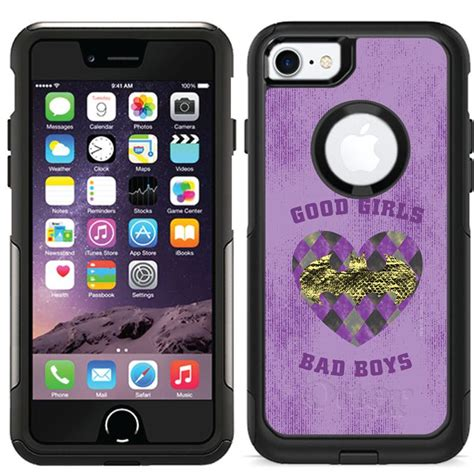 Shop for iphone cases, crossbody phone cases, phone wallets, and phone wristlets. Good Girls, Bad Boys design for your OtterBox® Commuter Case for iPhone 7. Premium quality ...