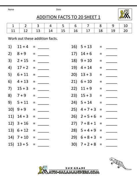 aufgaben 2 klasse ausdrucken mit l 246 sungen mathe 1 bis 100 math addition addition