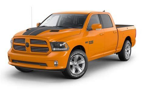2015 Ram 1500 Ignition Orange Sport & Black Sport Editions