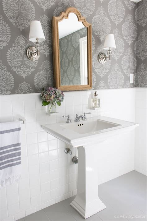 How I Painted Our Bathroom's Ceramic Tile Floors: A Simple