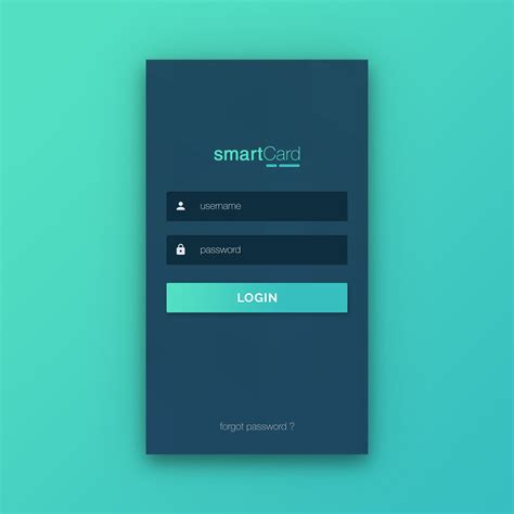 login page mobile application inspirations in 2018