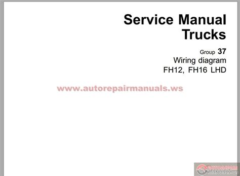 volvo fh4 truck wiring diagram service manual somurich