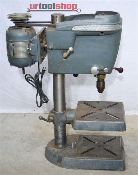 Vintage Craftsman Bench Drill Press Model 10323131 3909