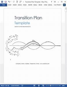 Work Breakdown Schedule Transition Plan Template Ms Word Excels Templates