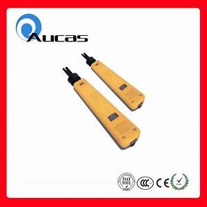 China Cat5 Rj11 Rj45 Network Idc Punch Down Tool