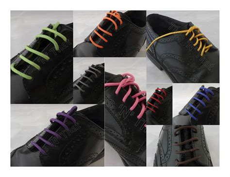 colored shoe laces 50 2nd pair colored waxed shoe laces sneaker work