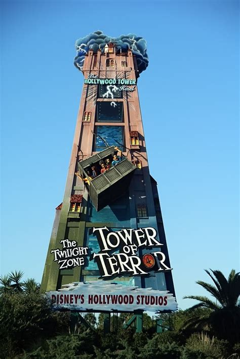 tower  terror promotional sign update