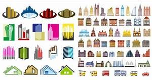 Construction Of The Main House Vector Icons - Ai, Svg, Eps