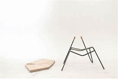 Fold Cut Furniture Chair Origami Round Toronto