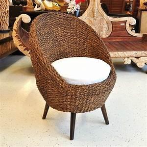 Polyrattan Stühle Günstig Kaufen : stuhl rattan wasserhyazinthe oval dunkel g nstig kaufen ~ Watch28wear.com Haus und Dekorationen