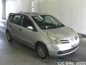 Nissan Note 2006 : 2006 nissan note silver for sale stock no 35252 japanese used cars exporter ~ Carolinahurricanesstore.com Idées de Décoration