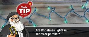 Christmas Tree Light Bulbs Are Connected In Parallel And