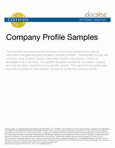 best photos of examples of company profile template With how to make a company profile template