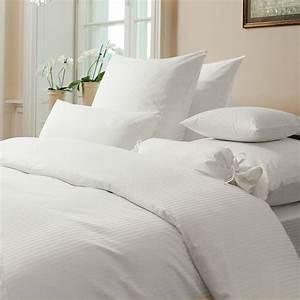 Bettwäsche 155x220 Weiß : damast bettw sche rubin streifen weiss www wunschbettw ~ Yasmunasinghe.com Haus und Dekorationen