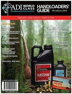 Adi Reloading Manual 9th Edition