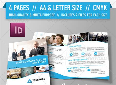 brochure templates pages costumepartyrun