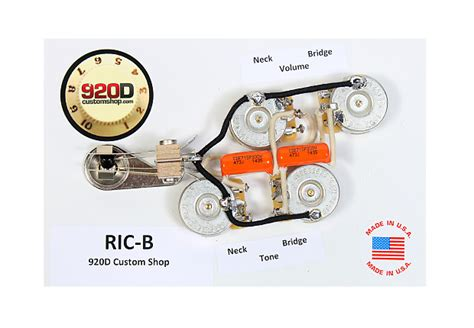 Rickenbacker 620 Wiring Diagram by 920d Custom Ric B Wiring Harness For Mono Rickenbacker