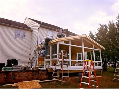 Building A Sunroom by How Does It Take To Build A Sunroom Livingspace