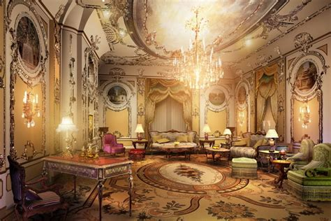 Luxurious Suite 3d Cgtrader