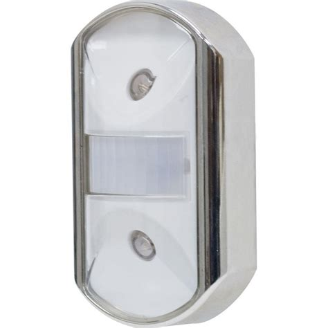 motion activated light ge chrome motion activated led light 11242 the