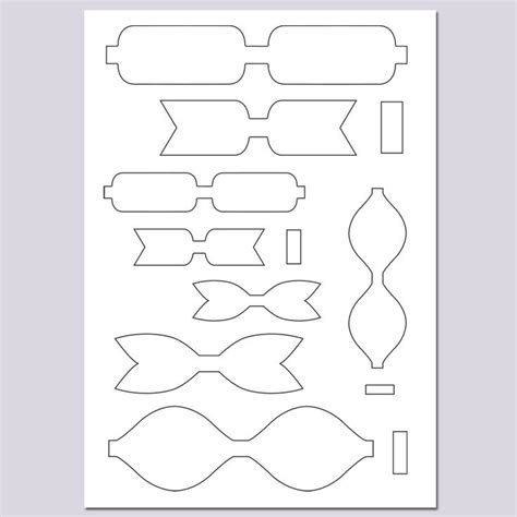 cricut bow template bow templates card ideas template hair bow and cricut
