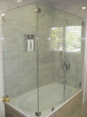 Tub Shower Combo One one bathtub shower foter