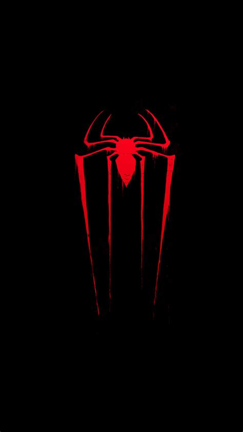 spiderman neon red wallpaper wallpapertag