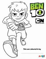Ben Coloring Pages Cartoon Network Colouring Printable Printables Template Ins Toys Activities sketch template
