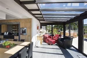 cuisine d ete veranda With amenager une entree exterieure de maison 15 prix dune terrasse beton