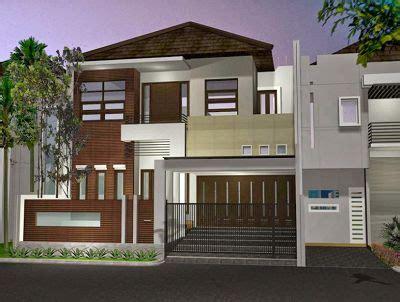 desain rumah  lantai modern elegan unik