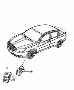 Chrysler Sebring Hydraulic Control Unit  Anti