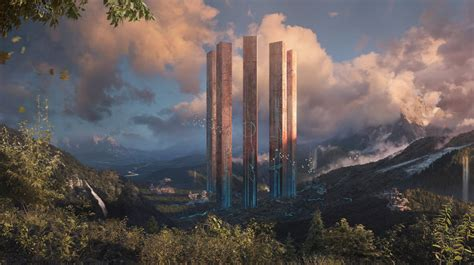 20 Absolutely Magnificent Futuristic City Digital Art ...