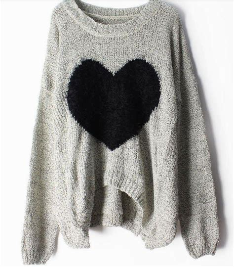 oversized sweater oversized print grey sweater keep me warm fuzzy