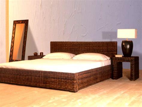 Rattanbett Notte Als Rattan Möbel Schlafzimmer