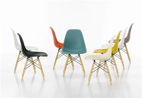 eames plastic side chair dsw vitra stylepark