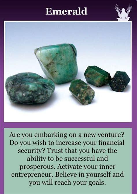 Emerald Healing Crystal