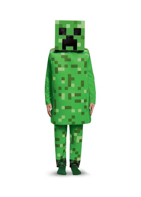 boys minecraft green creeper costume video game costumes