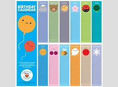look around kawaii birthday calendar by asking for trouble