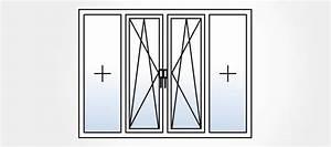 Porte Fenetre Bois 2 Vantaux : porte fen tre 4 vantaux et grandes baies vitr es mesures ~ Dode.kayakingforconservation.com Idées de Décoration