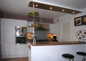 Spot Plafond Cuisine : meuble cuisine wellmann ~ Melissatoandfro.com Idées de Décoration