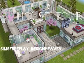 free house floor plans sims freeplay house tour window mansion