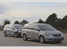 2017 Chrysler Town & Country Silhouette Revealed in Latest