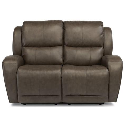 power reclining sofa with usb ports flexsteel chaz power reclining loveseat with usb ports