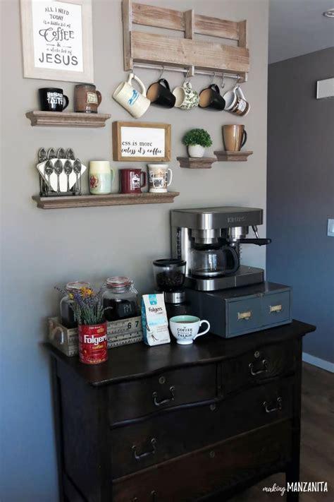 How to Create a DIY Coffee Station at Home   Making Manzanita