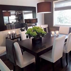 Schreibtisch Dunkles Holz : modern dining room hogar pinterest esszimmer esstisch und esszimmer ideen ~ Yasmunasinghe.com Haus und Dekorationen