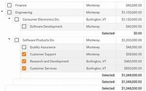 ASP.NET AJAX TreeView-Grid Hybrid Control | DevExpress