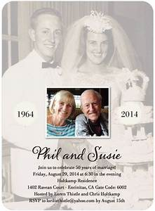 25 best ideas about wedding anniversary invitations on With party city 50th wedding anniversary invitations
