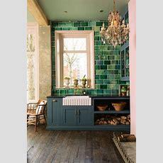 Best 25+ Green Tiles Ideas On Pinterest  Green Kitchen
